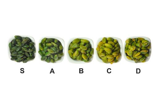 peeled pistachio type