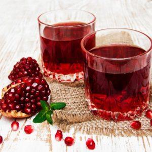 Pomegranate Syrup Drink